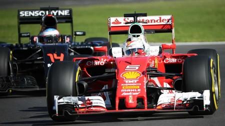 Vettel Alonso F1