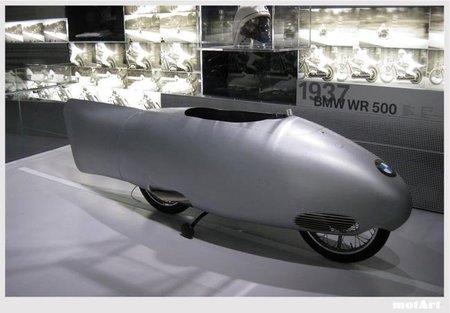 BMW WR 500, la moto del récord de Ernst Henne en 1937