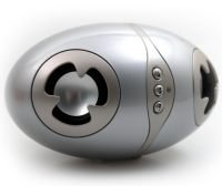 Axxen i-Egg, reproductor de MP3 con forma de huevo
