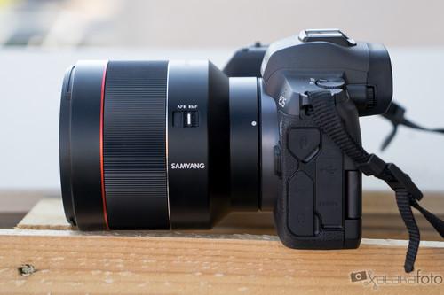 """Samyang AF 85 mm f1.4 RF, análisis: probamos el tele más barato para hacer retratos """"de categoría"""" con las Canon EOS R"""