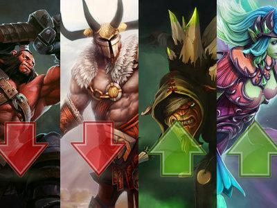 Los héroes que más suben y bajan su porcentaje de victorias y por qué tras la Actualización 7.05