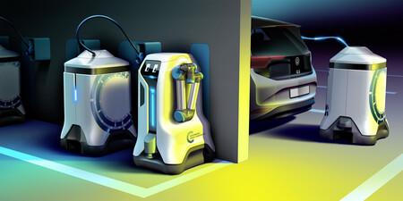 Volkswagen Robot Cargador Coche Electrico 4