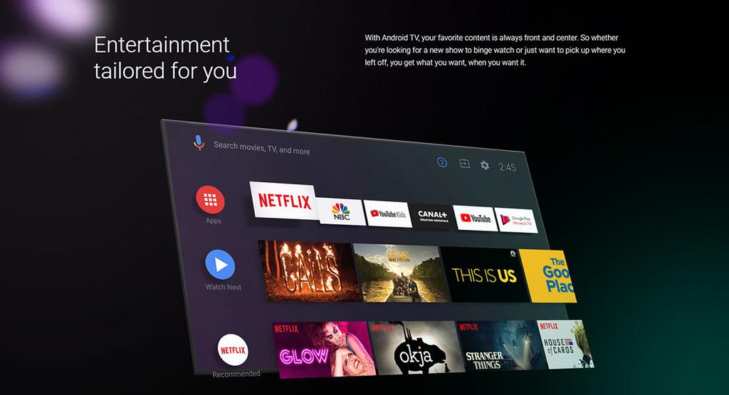 Android TV ya suma