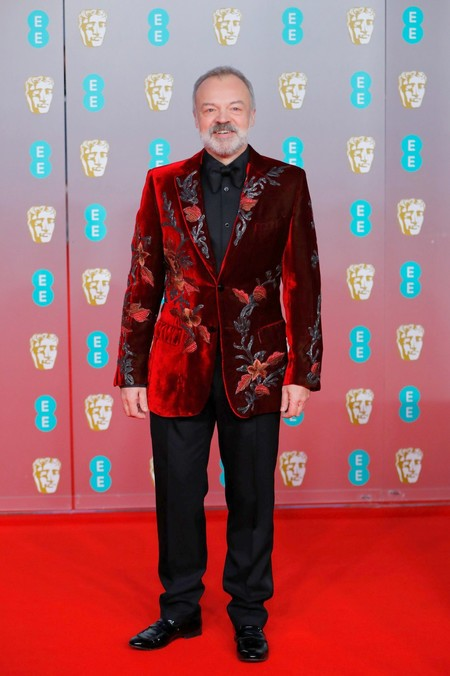 Graham Norton Baftas 2020 Red Carpet Alfombra Roja Trendencias Hombre 02