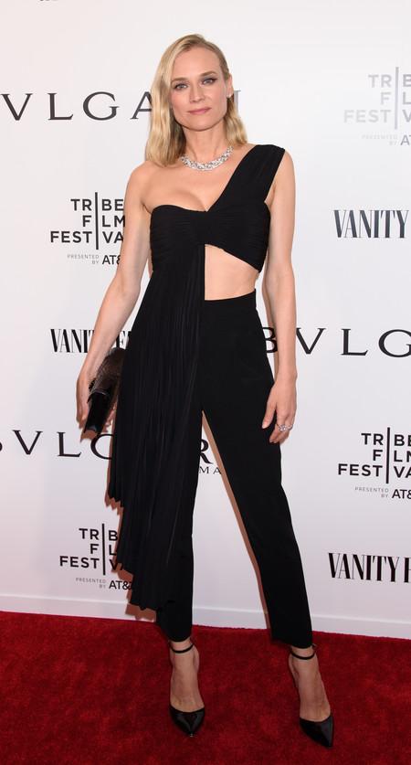 Diane Kruger bulgari look