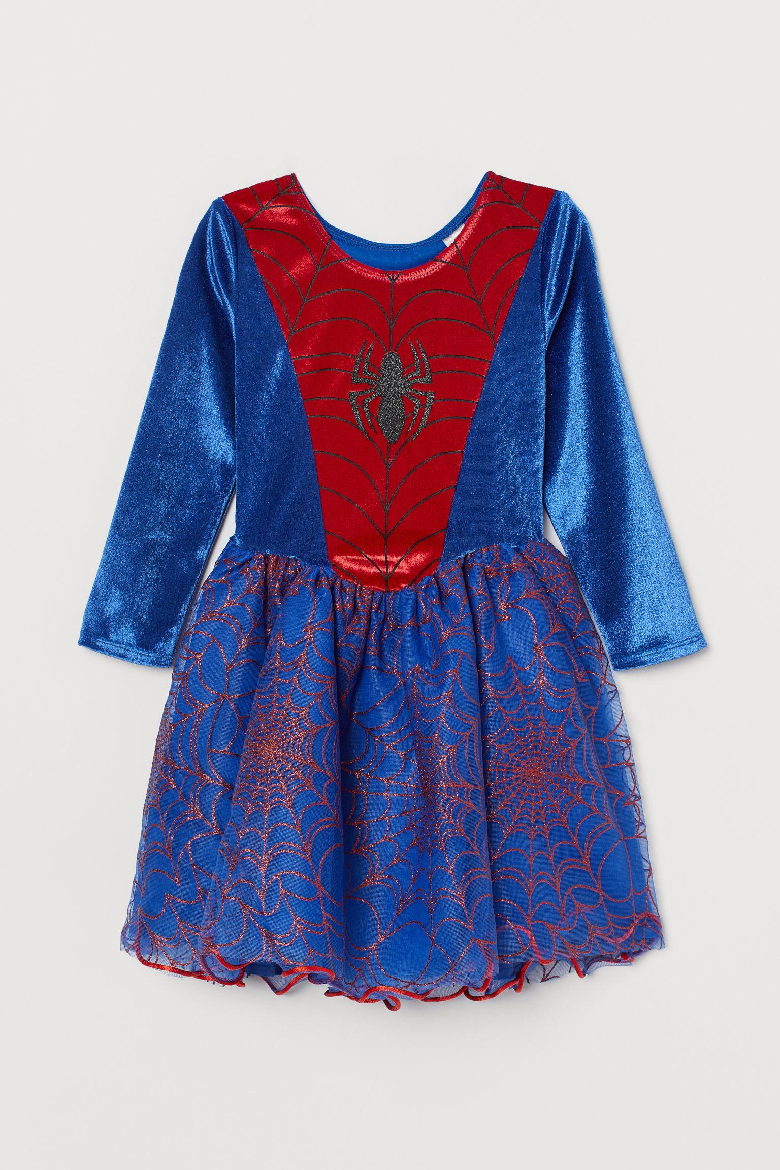 vestido de Spiderman