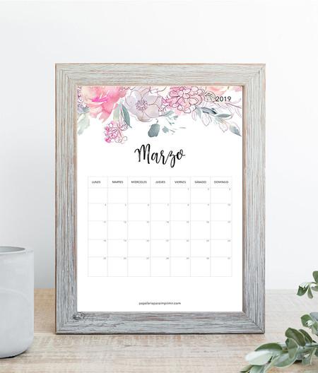Calendario Para Imprimir Marzo