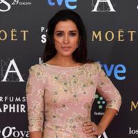 El look más romántico de Inma Cuesta en los Premios Goya 2015