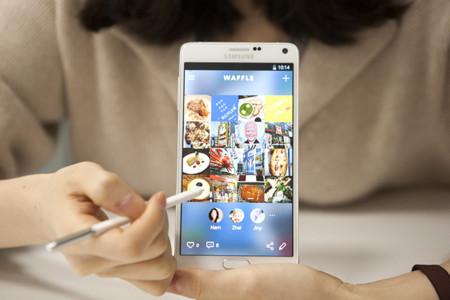 Así es Waffle, la nueva red social de Samsung