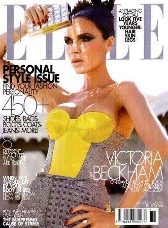 Victoria Beckham portada de Elle US
