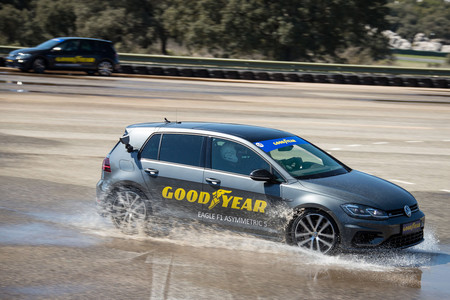 Goodyear Eagle F1 Asymmetric 5 y Supersport prueba contacto