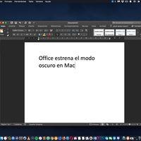 Microsoft actualiza Office para Mac: ahora es compatible con el Modo Oscuro para no desentonar en Mojave