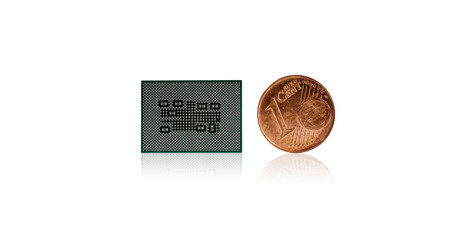 Snapdragon 8c Compute Platform European Coin Front