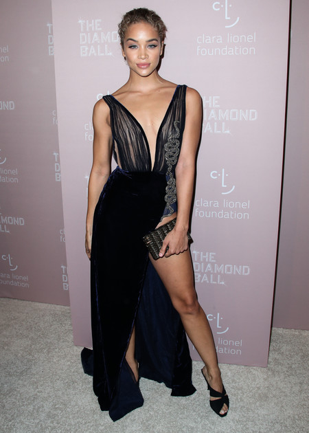 Jasmine Sanders diamond ball