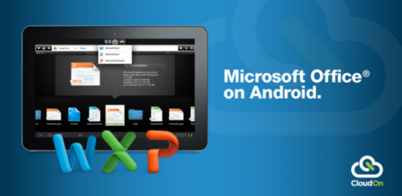 CloudOn trae Microsoft Office a tablets Android