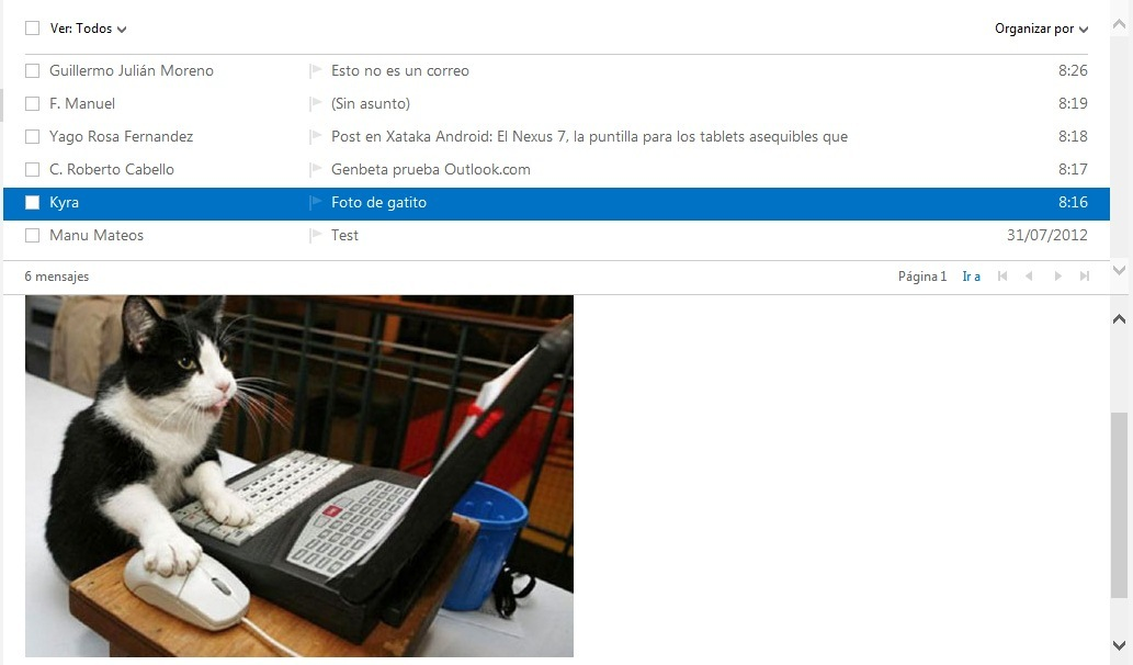 Foto de Outlook.com (8/9)