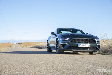 Ford Mustang Bullitt delantera