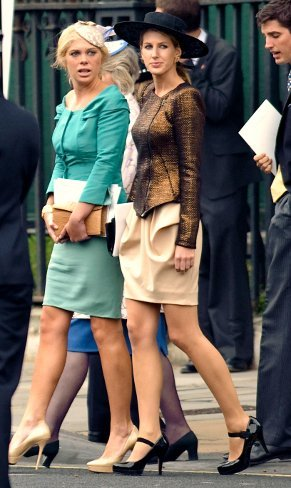 El look de Chelsy Davy, ¿novia de Harry?, en la Boda del príncipe Guillermo y Kate Middleton