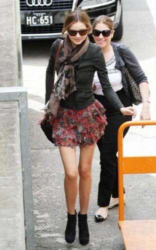 El look perfecto de Miranda Kerr para este invierno