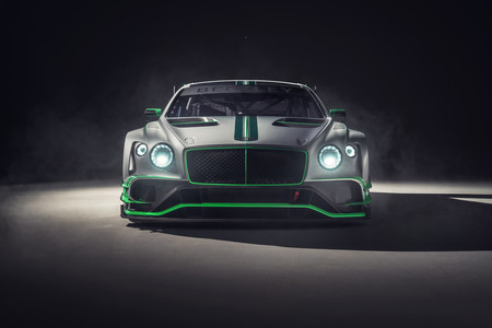 Bentley Continental GT3 frontal
