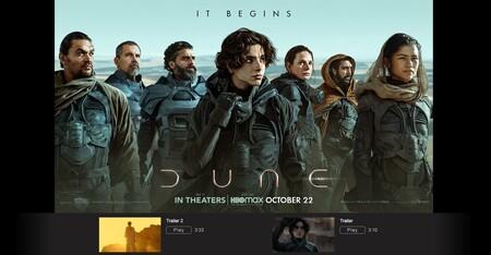 Por qué iTunes Movie Trailers es mi web favorita para ver trailers con la máxima calidad de imagen: el ejemplo de Dune