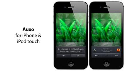 Auxo, una mejora en la interfaz multitarea de iOS sólo para dispositivos con Jailbreak