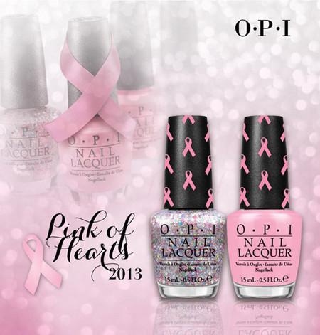 """OPI lanza una nueva edición de """"Pink of Hearts"""" para recaudar fondos contra el cáncer de mama"""