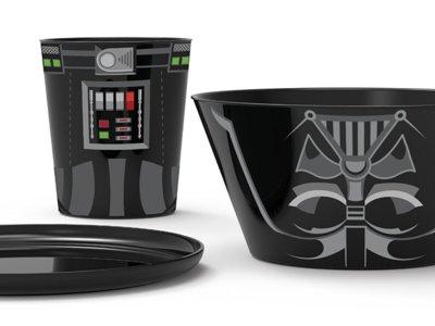 Set de desayuno Star Wars Darth Vader por 7,95 euros