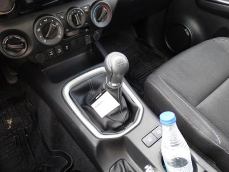 Marchas Prueba Toyota Hilux Interiores