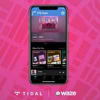Tidal se integra con Waze: podemos escuchar nuestra música favorita directamente desde el navegador de Waze