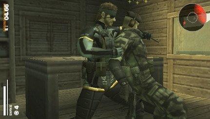 Imágenes de Metal Gear Solid Portable Ops