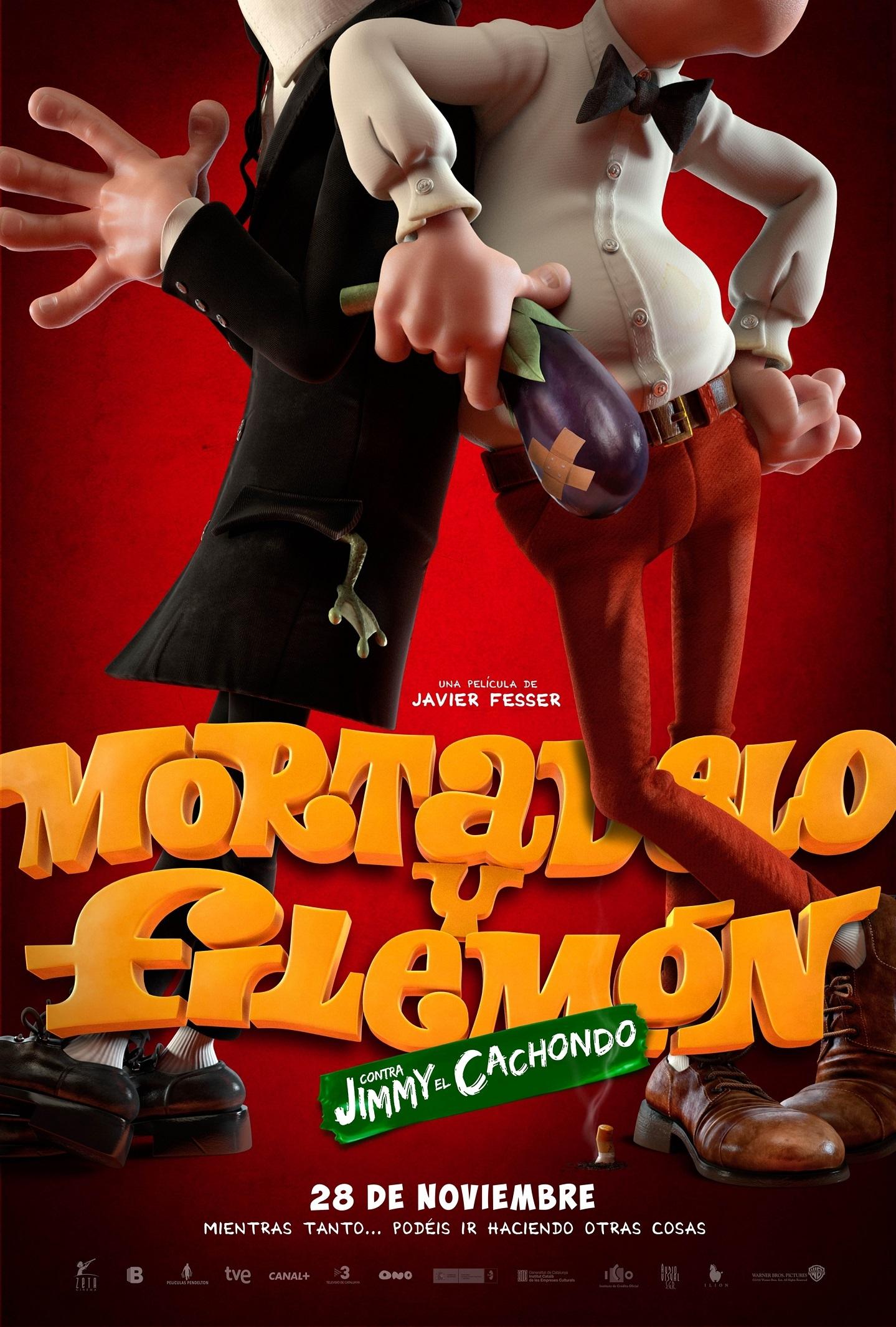 Foto de Carteles de 'Mortadelo y Filemón contra Jimmy el Cachondo' (1/2)