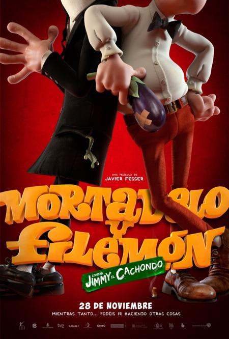 Carteles de 'Mortadelo y Filemón contra Jimmy el Cachondo'