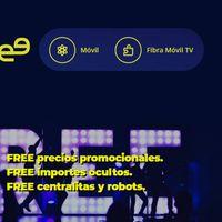 Mobilfree establece en menos de 40 euros su primer combinado de fibra, móvil y televisión