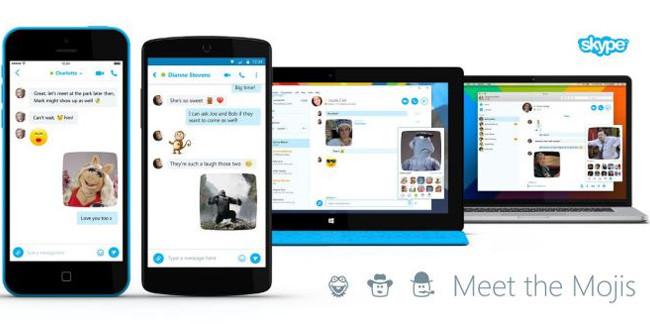 Skype Moji