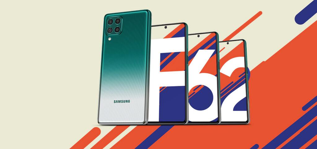 Samsung Galaxy™ F62: lo último de Samsung™ llega con 4 cámaras y alguna gigantesca batería de 7.000 mAh