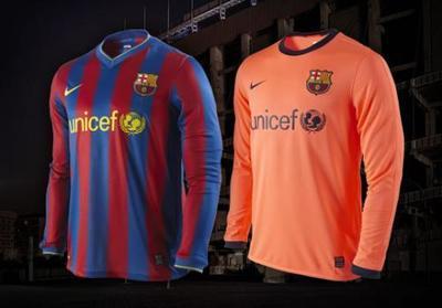 Nike presenta la nueva camiseta del Barcelona 2009-2010