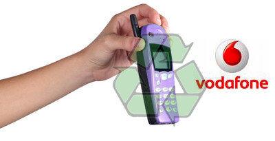 Vodafone regalará 75 puntos por entregar móviles viejos