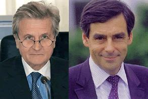 Trichet se reúne con el primer ministro francés
