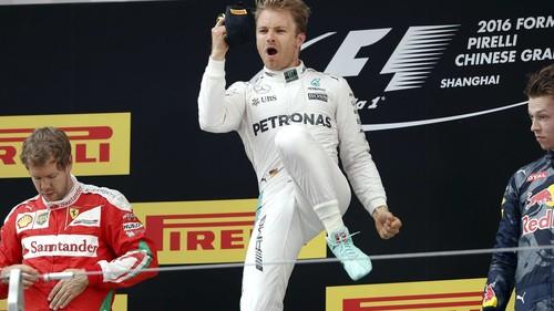 Nico Rosberg domina y consigue la victoria en el Gran Premio de China