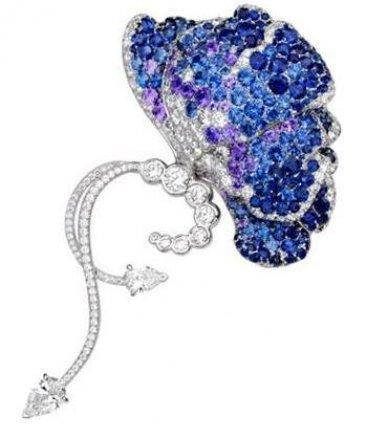 La colección de mariposas en piedras preciosas de Van Cleef & Arpels. Alta joyería francesa