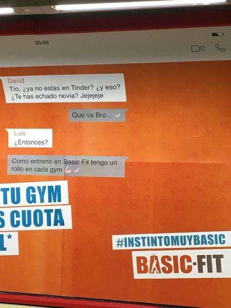 basic fit publicidad machista