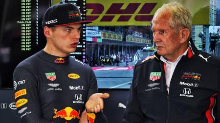 Helmut Marko Verstappen F1