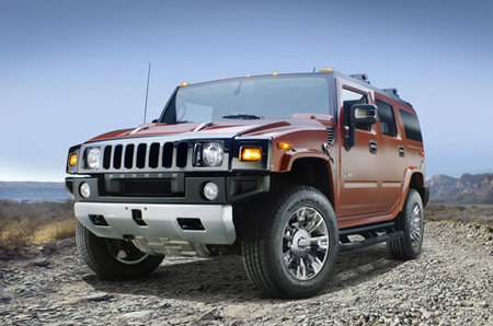 Hummer H2 Black Chrome Limited Edition