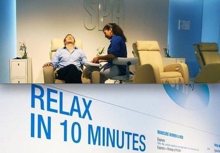 Be Relax, servicios de relajación en el aeropuerto