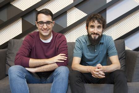 Pablo Postigo y Luis Herranz, fundadores de Frontity
