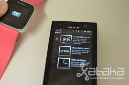Sony Smartwatch configuración