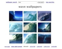 Wallpaper Search, buscador minimalista de fondos de pantalla