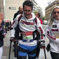 La maratón más rápida completada con un exoesqueleto robótico