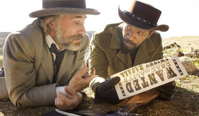 Christoph Waltz y Jamie Foxx en 'Django desencadenado'
